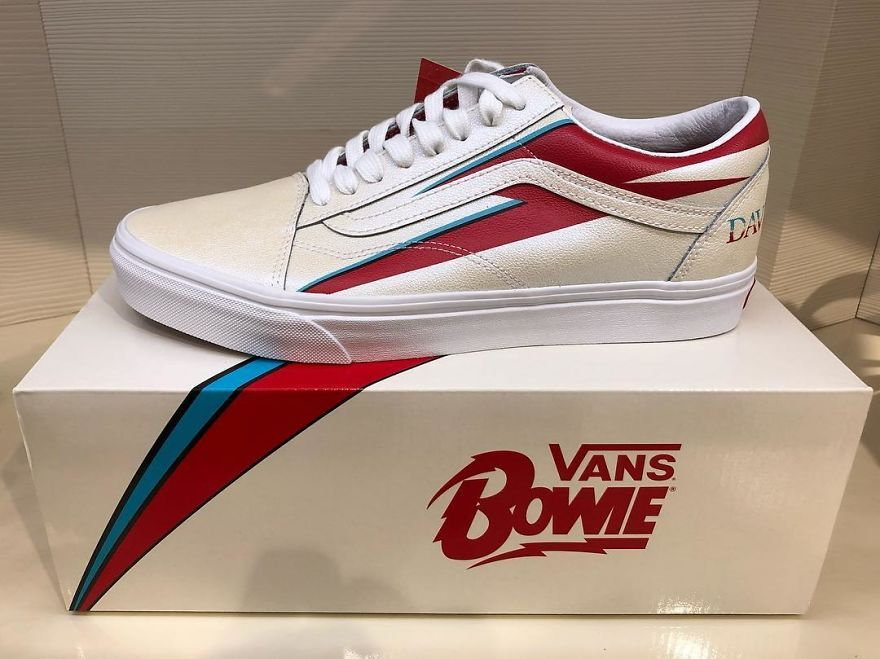 Vans to Release David Bowie Themed Sneakers