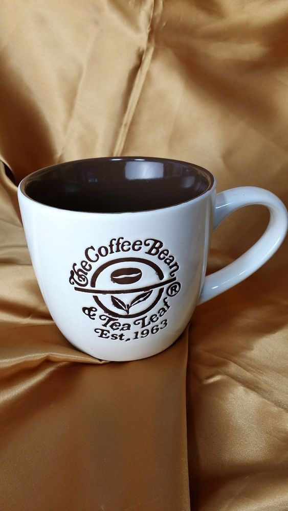 The Coffee Bean Tea Leaf Est 1963 Logo Mug Cup Promotional California Pantry Coffee Decor Logo Mugs Mugs