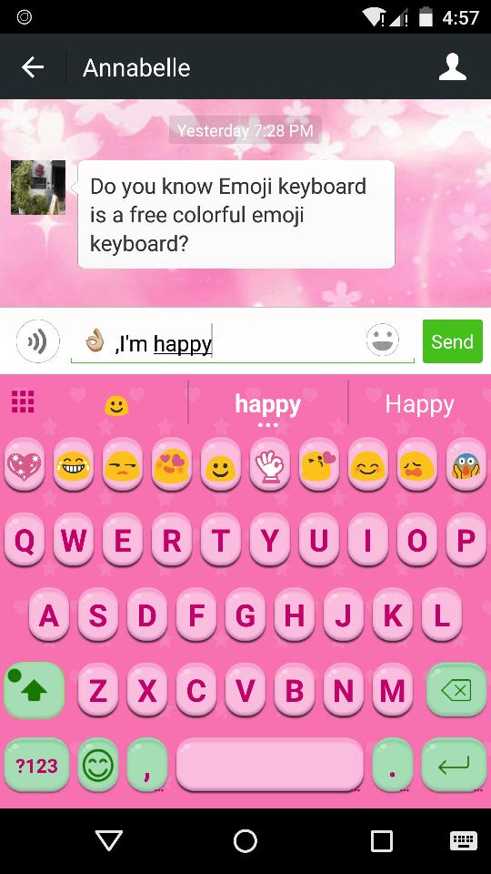 Pink Jelly Emoji Keyboard Theme For Cute Emoji Keyboard Emoji Keyboard Com Emoji Keyboard Cute Emoji Keyboard Cute Emoji