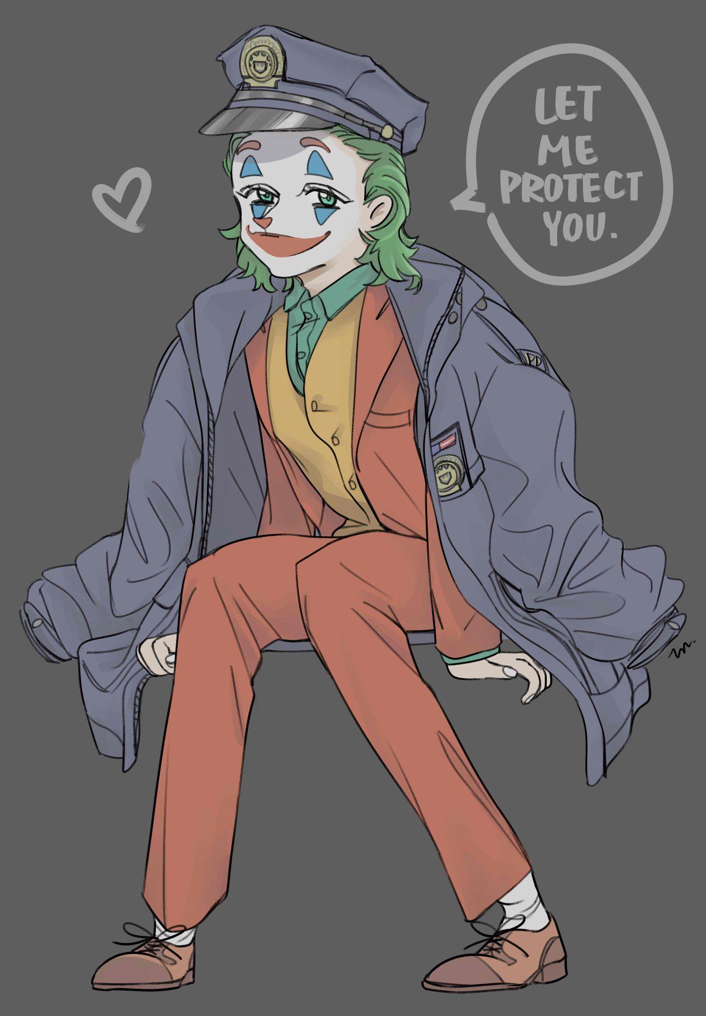 Joker art image by 喬依 黃 on 雜 Persona 5 anime, Joker