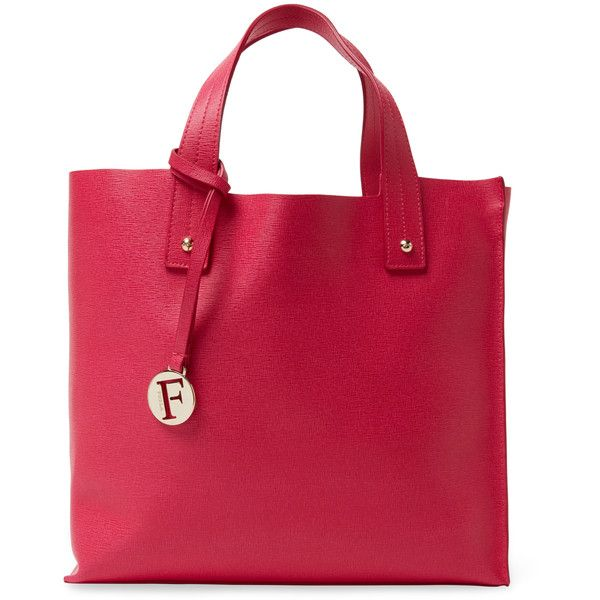 Furla Muse Medium Saffiano Leather Tote ($159) ❤ liked on ...