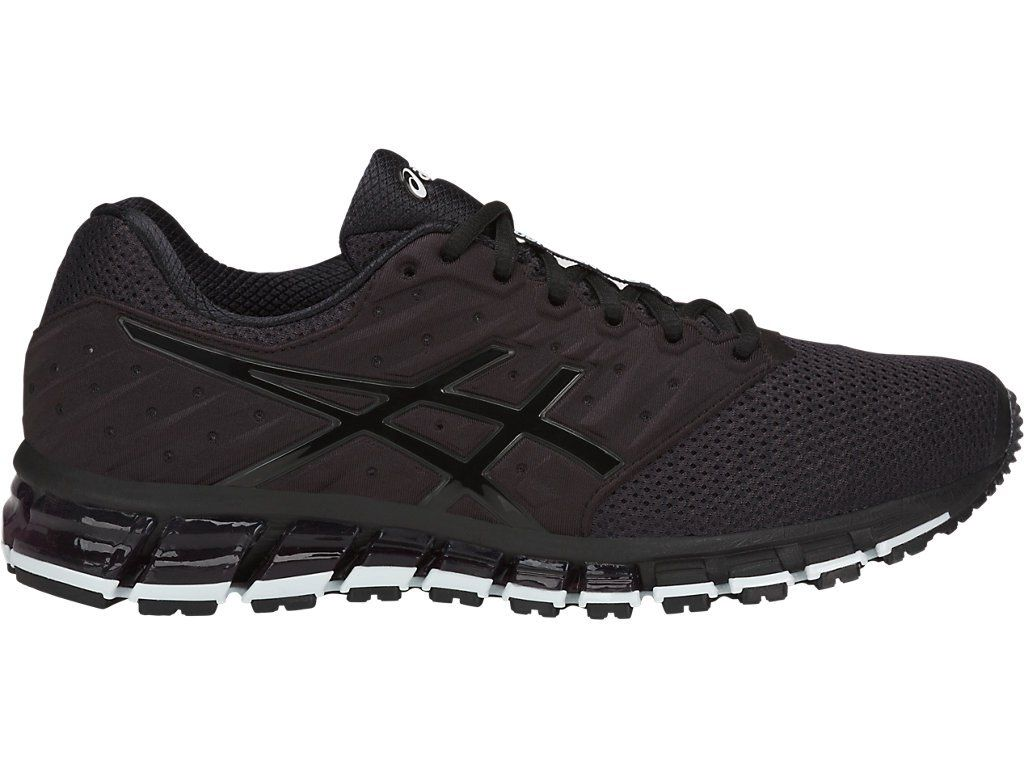 a320eb7b84801 Asics GEL-QUANTUM 180 2 MX Phantom Black White pas cher prix Baskets ...