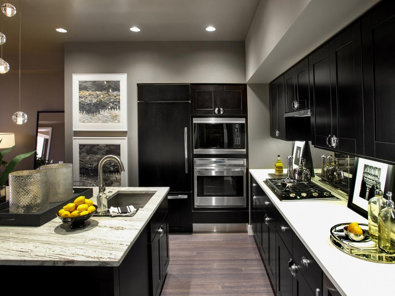 In This Sleek Contemporary Kitchen Featured In The 2013