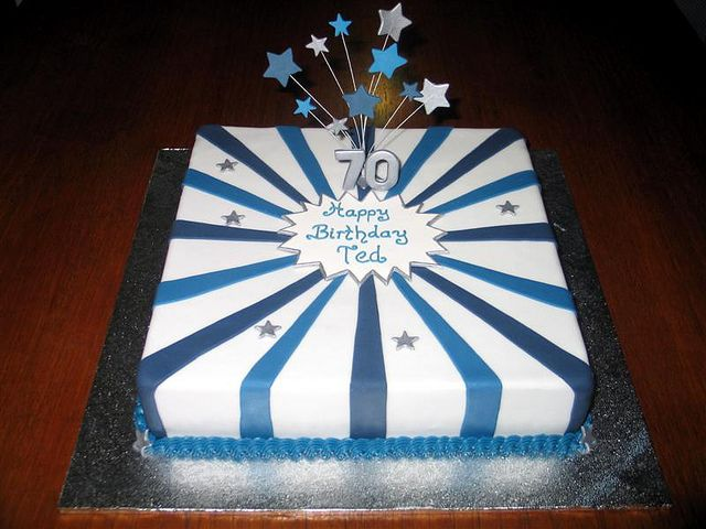 70th Birthday Cake 70th Birthday Cake