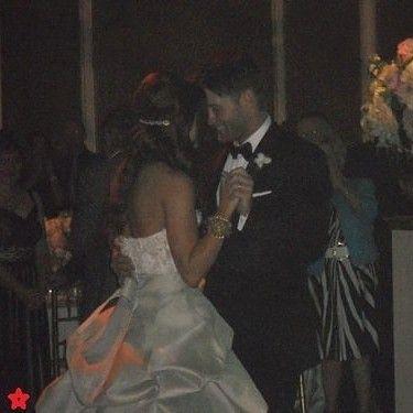 Jensen's wedding.