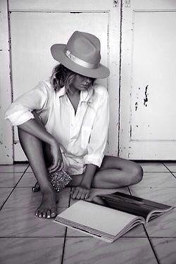 Just sitting on the kitchen floor...