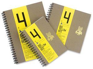 Big Yellow Bee Co-Mo Sketchbooks - BLICK art materials