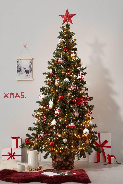 Kerstboompakket Set Van 33 Kerstboomversieringen2019 Kaemingk Kerstboompakket Set Van 33 Rood Wit Zilver Kaemingk Kerstboompakket Kerstboom Boom 2020 Yaya
