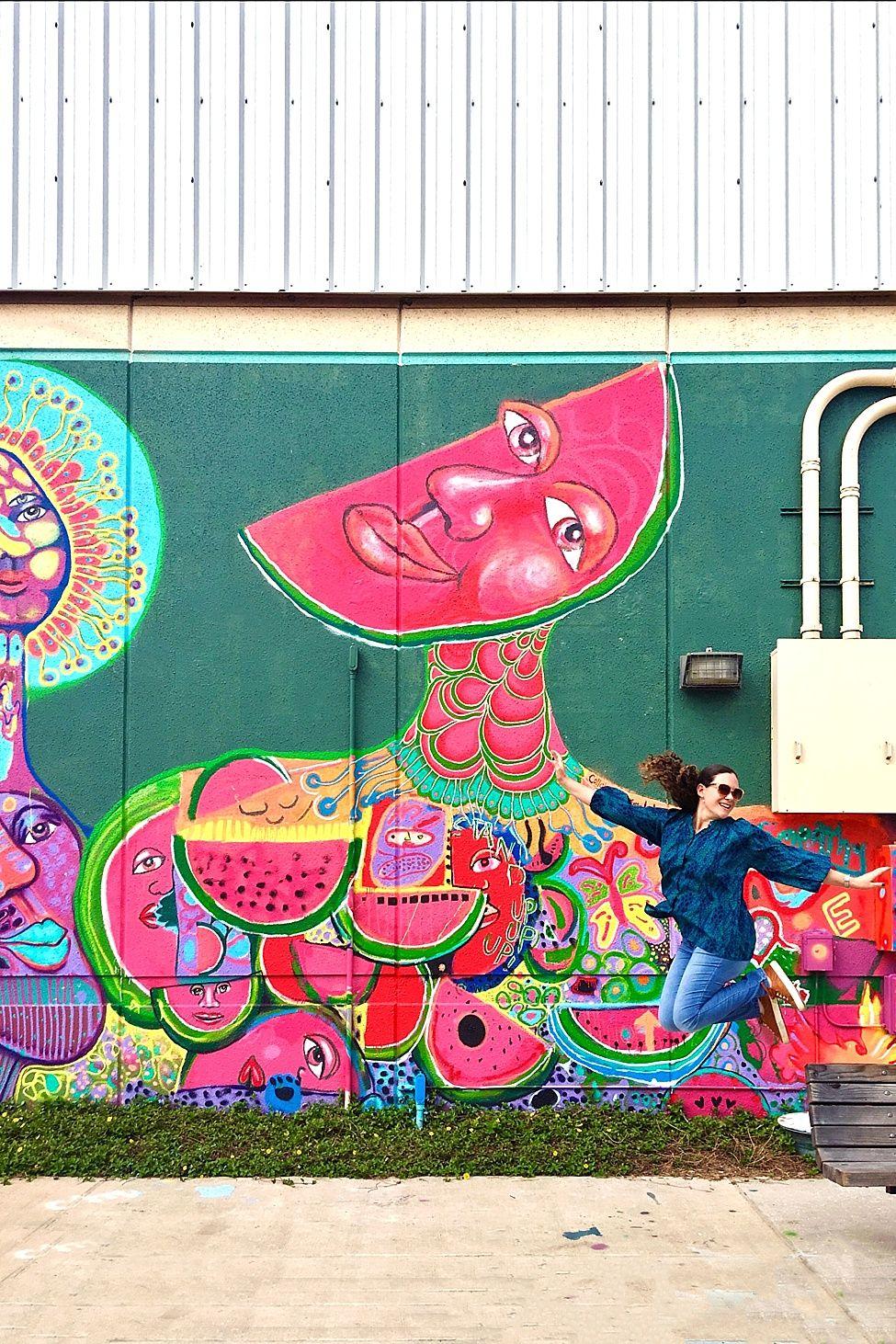 Wall 41 -1---Watermelon fresh life mural--- 2207 Winter St. Houston ...