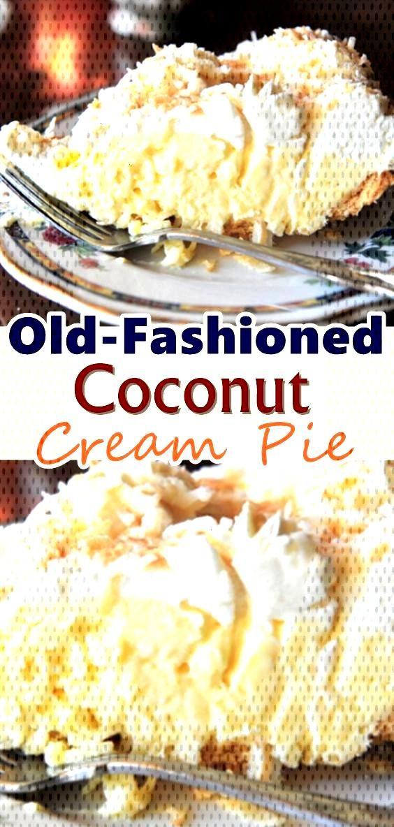 recipes Old-Fashioned Coconut Cream Pie