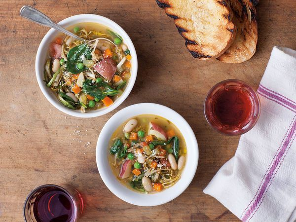 Italian Vegetable Soup, Umbrian Vegetable Soup (Zuppa di Verdure all'Agliata) Recipe   SAVEUR
