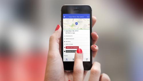 Sabías que Foursquare ya permite realizar reservas de mesas con OpenTable desde su aplicación