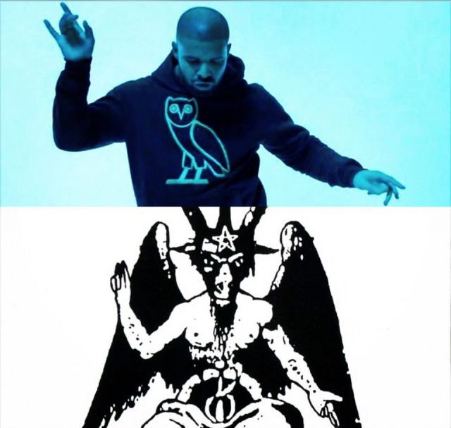 Drake As Above So Below And The Owl Molech Illuminati T