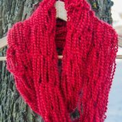 Warm, soft and fashionable arm knit scarf made with Minnesota love on Etsy, $20.00