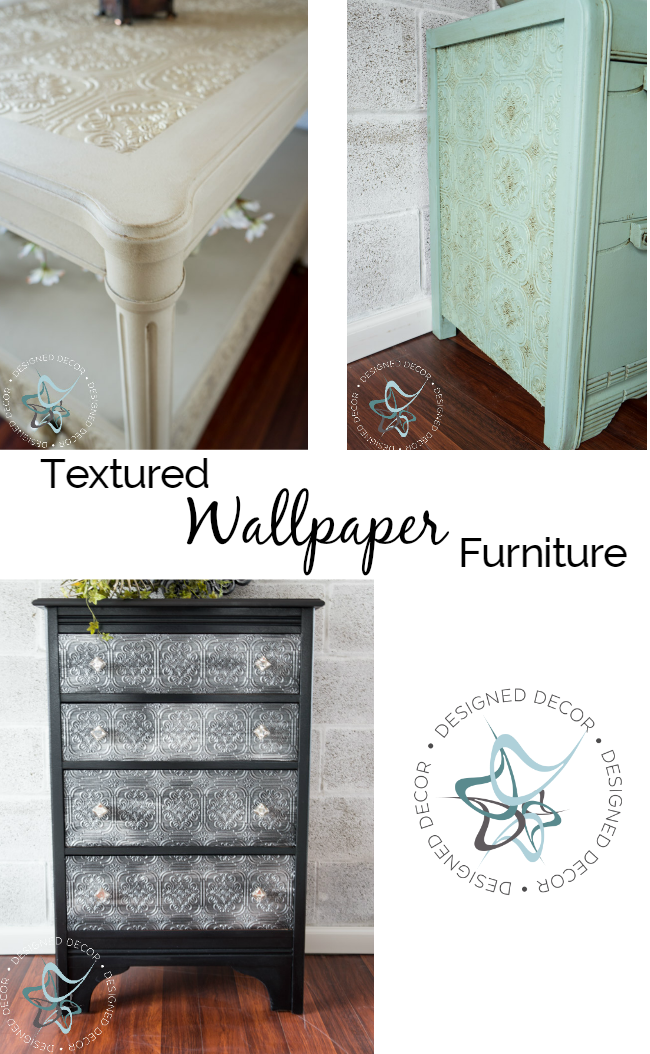 Textured Wallpaper Furniture Designed Decor Wallpaper Furniture Textured Wallpaper Decoupage Furniture