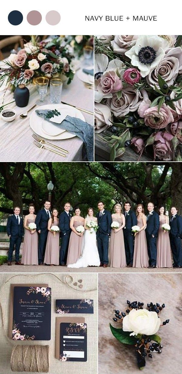 Fall Wedding Colors 2020 - The 10 Best Color Combination Ideas You'll Love - Oh, ...