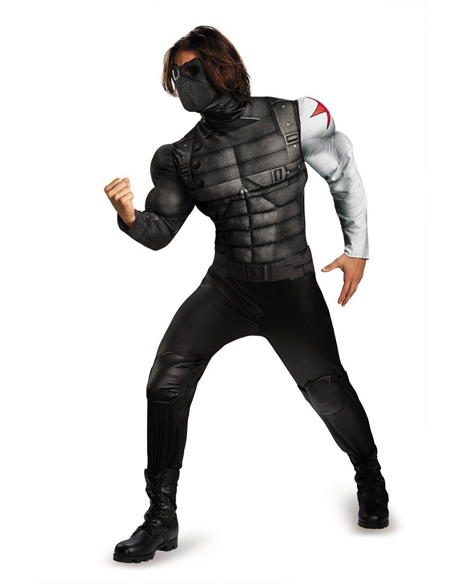 Captain America Winter Soldier Adult Mens Costume – Spirit ...