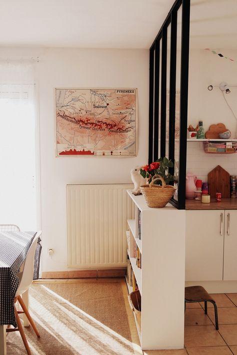 Une Verrière D'Atelier Pour Séparer Ma Cuisine De L'Espace Salon