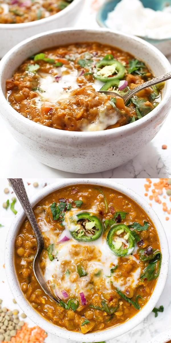 Detox Moroccan Lentil Soup