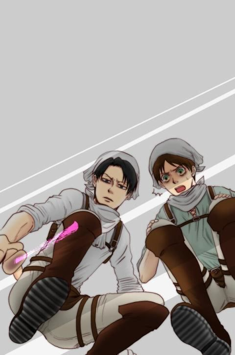 Levi Eren Attack On Titan Anime Lock Screen Attack On Titan Anime