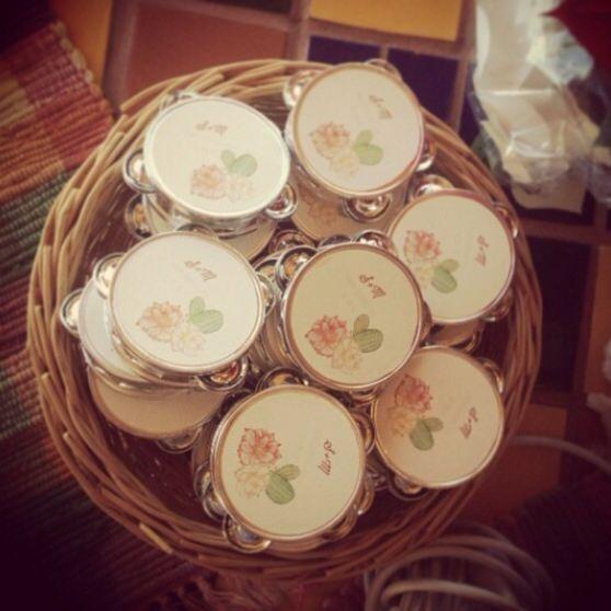 Custom Mini Tambourines!!! Available At Www.ny-birds.com
