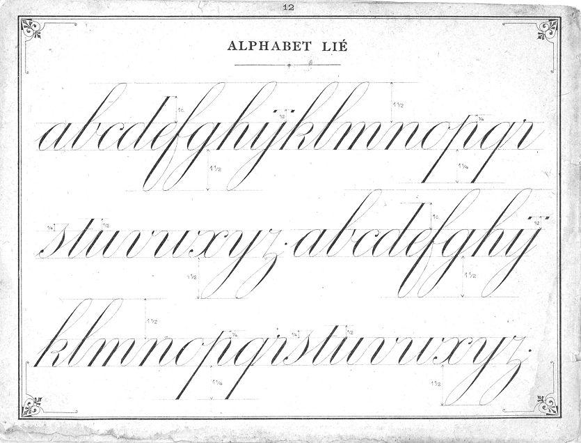 Copperplate - P.Meyrat - Principes d'ecriture - tipstricks4 - Picasa Web Albums