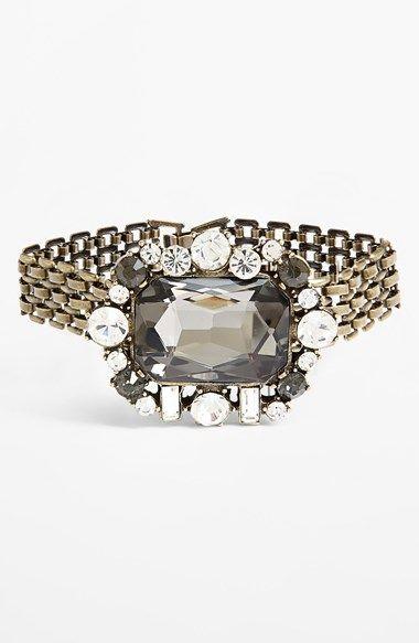 Cara Brooch Link Bracelet available at #Nordstrom
