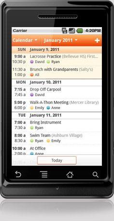 cozi; family planner & calendar-I LOVE THIS!!!!!!