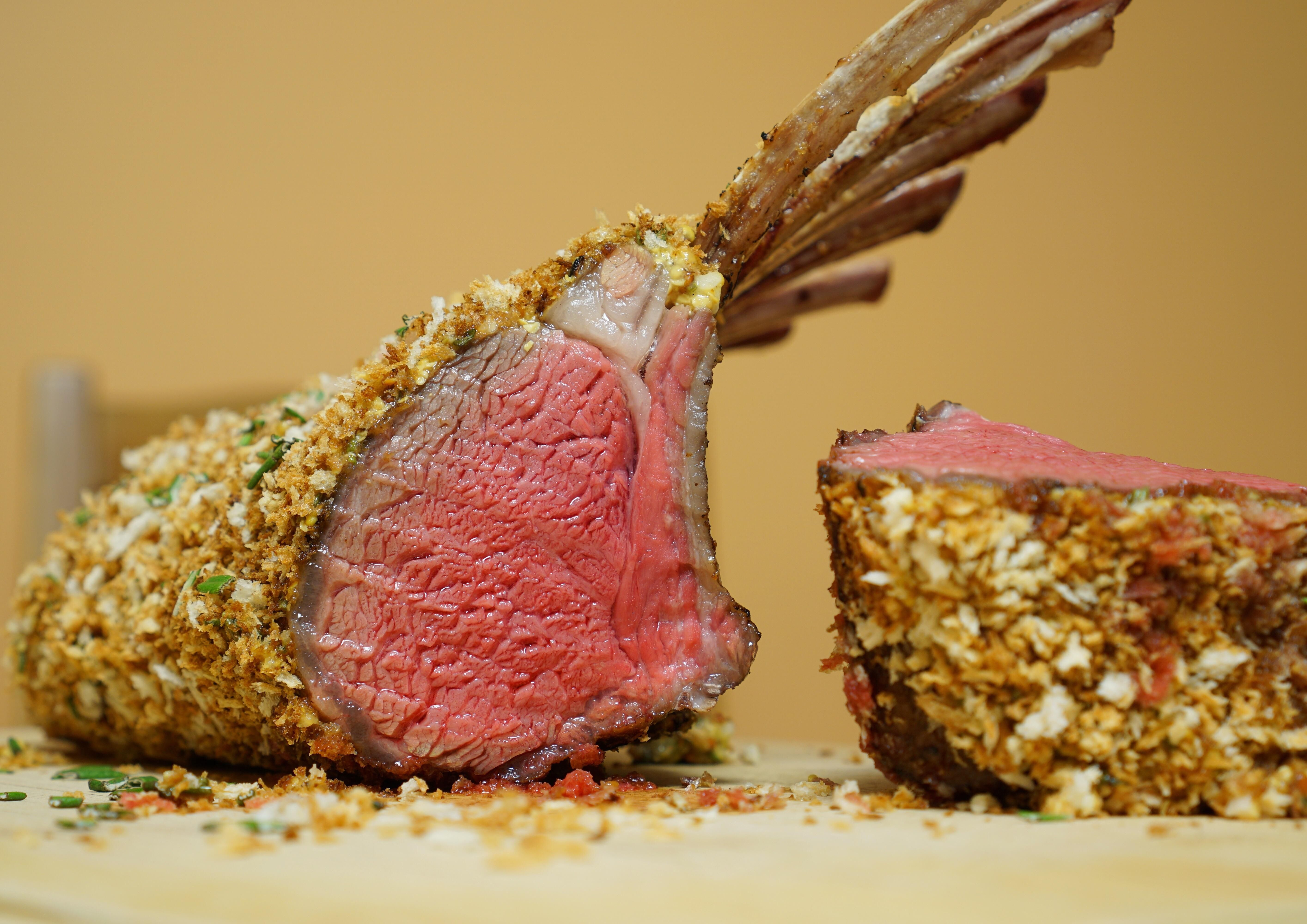 Homemade Sousvide Rack Of Lamb Took Advice From My Previous Post