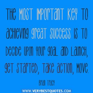 key to success quotes by Brian Tracy