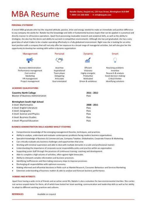 Pin On Resume Career Termplate Free