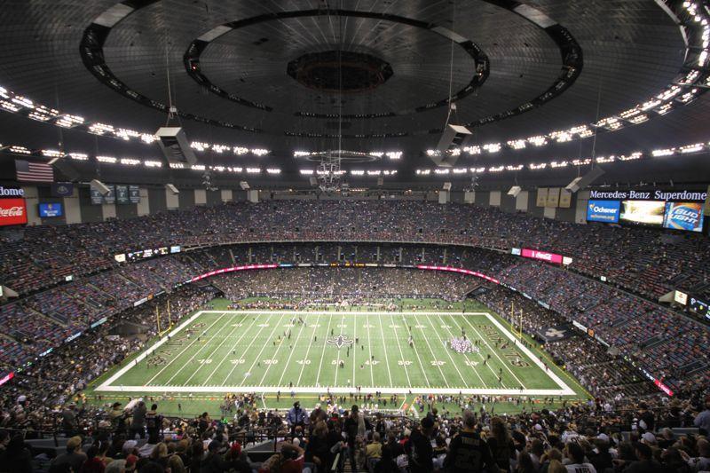Superdome - New Orleans Saints | New orleans saints, New ...