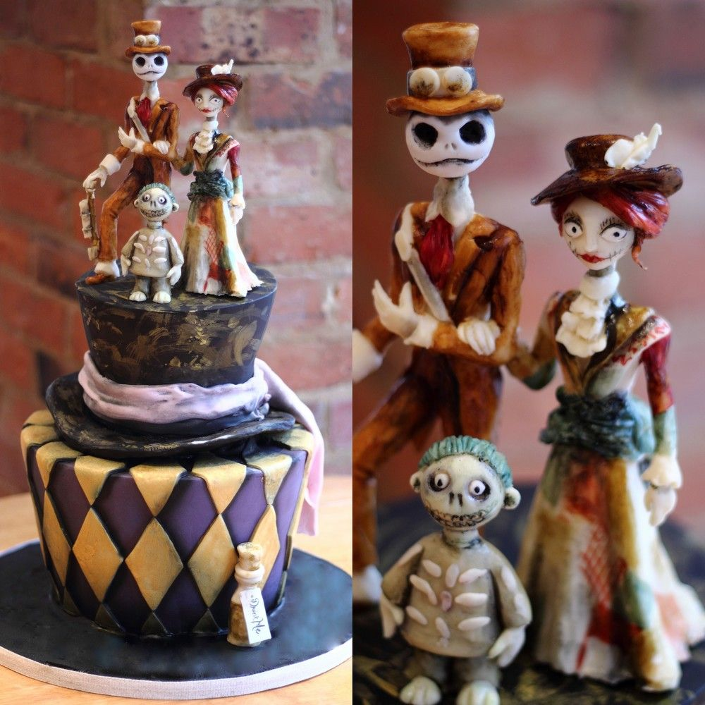 Cool Buttercream Wedding Cakes Huge Wedding Cake Topper Square Wedding Cakes With Cupcakes Italian Wedding Cake Young Elegant Wedding Cakes PinkAverage Wedding Cake Cost Tim Burton Steampunk Wedding Cake | Incredible Cakes | Pinterest ..