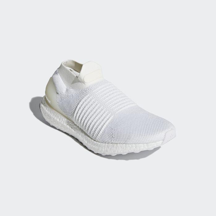 1ab8c992e Ultraboost Laceless Shoes White 8.5 Mens