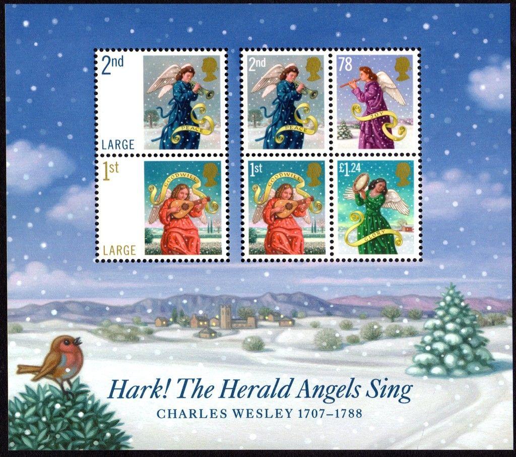 Stamp: Christmas Angels (United Kingdom of Great Britain & Northern Ireland)…