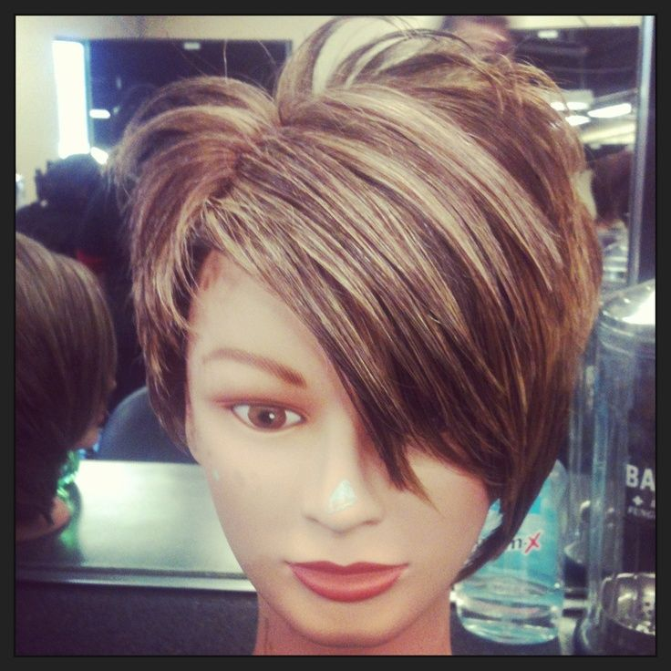 Unique Highlights For Pixie Haircut Pixie Cut With Blonde