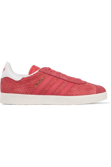 adidas Originals | EQT Gazelle rubber trimmed leather and