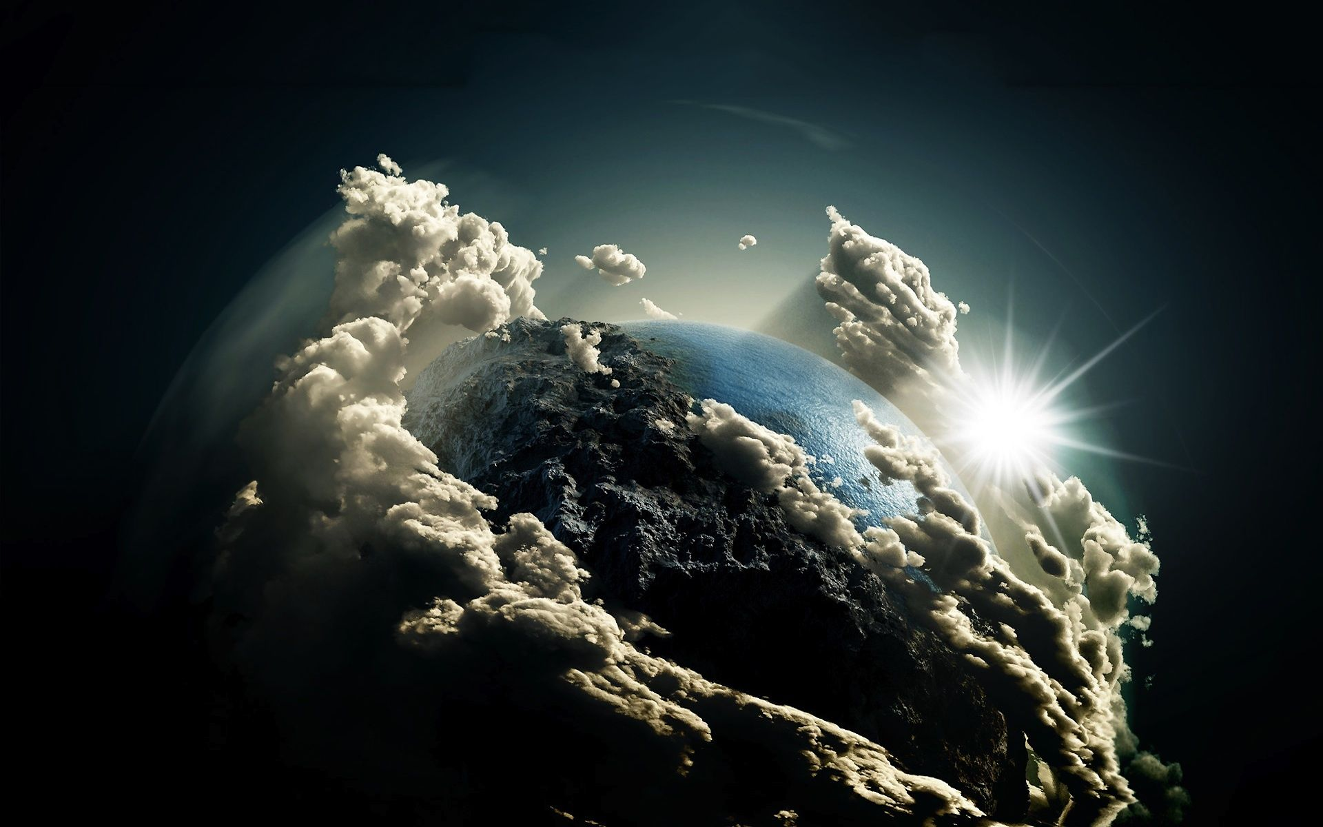 nature clouds covering earth from space wallpaper wall murals nature clouds covering earth from space wallpaper earth from spacewall muralscloud