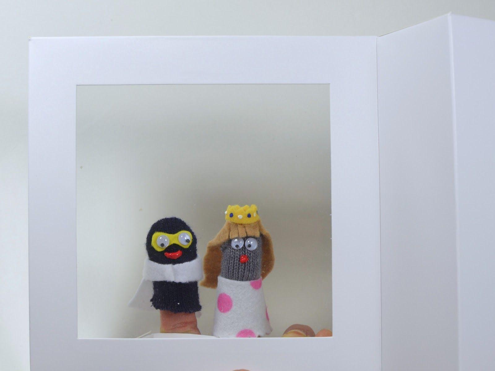 Ikat Bag Finger Puppet Kit