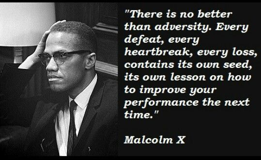 Lessons from adversity