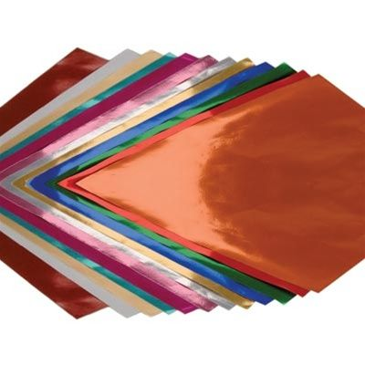 Metallic Foil Paper, 20\