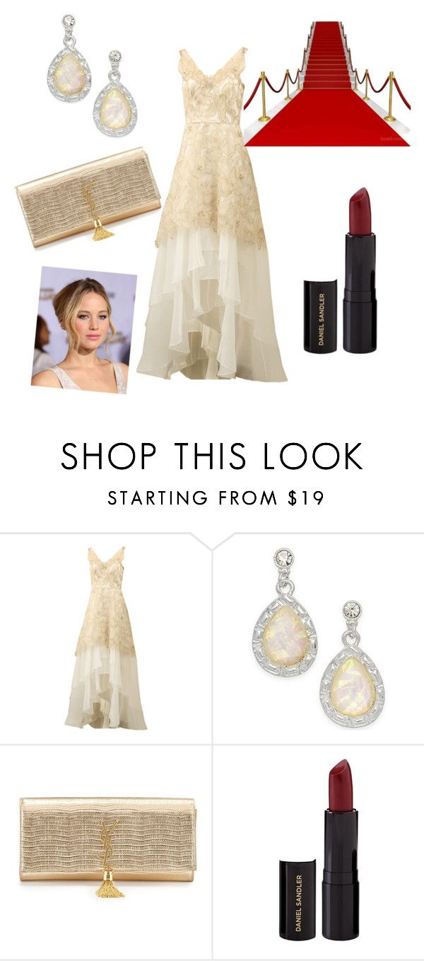 """""""Untitled #498"""" by nikola-sperlikova ❤ liked on Polyvore featuring beauty, Notte by Marchesa, Style & Co., Yves Saint Laurent and Daniel Sandler"""