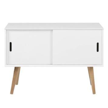 Kommode Nees - Eiche teilmassiv - Weiß Weiße Kommoden unter 200 - schlafzimmer helsinki malta