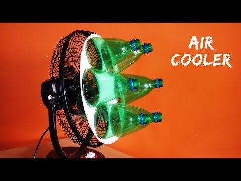 eine klimaanlage aus einem ventilator und plastikflaschen basteln basteln luft und wetter. Black Bedroom Furniture Sets. Home Design Ideas