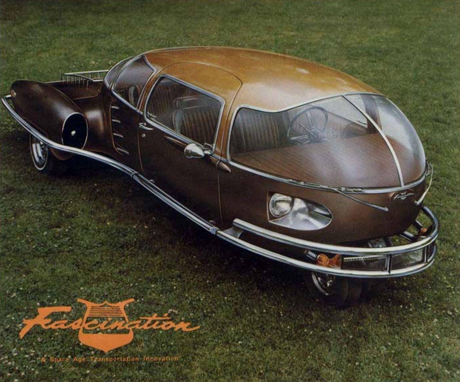 Fascination Car Was The Brain Child Of Paul M Lewis Of The - Cool cars preston highway