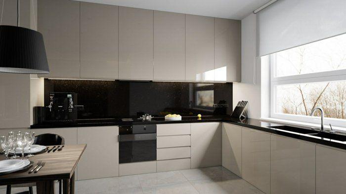 k chenr ckwand glas die moderne option glasr ckwand k che glasr ckwand und k che schwarz. Black Bedroom Furniture Sets. Home Design Ideas