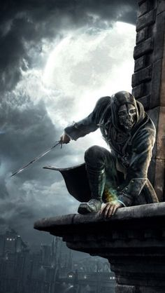 Dishonored Corvo Attano The Iphone Wallpapers Dishonored Forest Wallpaper Concept Art Characters