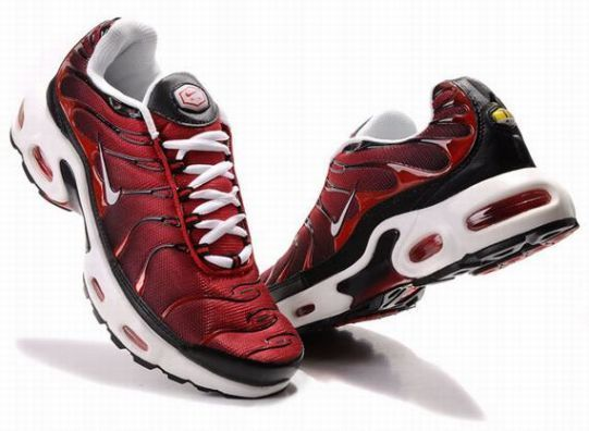 outlet store sale c6425 ea6a3 Nike Air Max TN Men s Red Black White