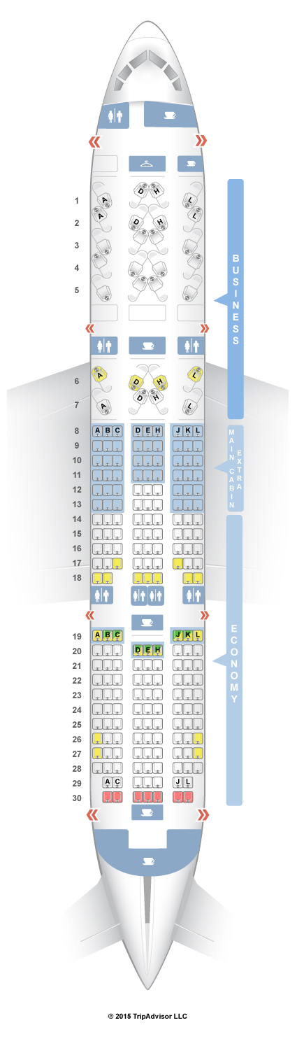 Aa 787 Seat Map SeatGuru Seat Map American Airlines Boeing 787 8 (788) | Good to  Aa 787 Seat Map