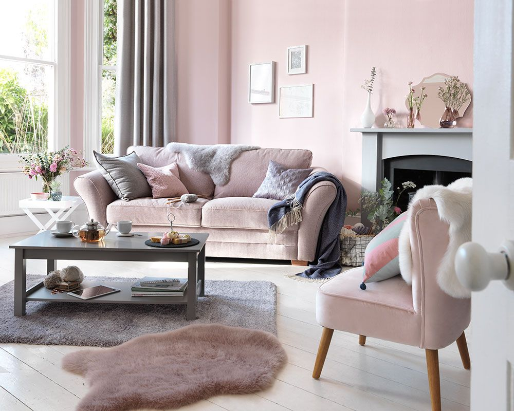 Discover All The Hottest Looks For Sofas This Spring At Argos Ideal Home Pink Sofa Living Room Sitting Room Decor Accent Chairs For Living Room